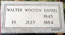 Walter Wooten Daniel