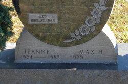 Jeanne L <i>Mayer</i> Miller
