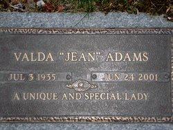 Valda Jean <i>Graham</i> Adams