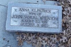 Anna <i>Kilpatrick</i> Wheadon