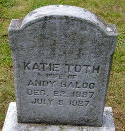 Katie <i>Toth</i> Balog