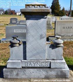 Laura Louella Ella <i>Harrelson</i> Baynes