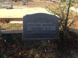 Dr Benjamin Borroum Shaver