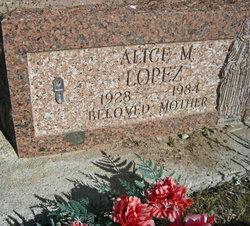 Alice M. Lopez