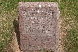 Joann Betty Thayer
