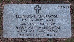 Florence T Malkowski