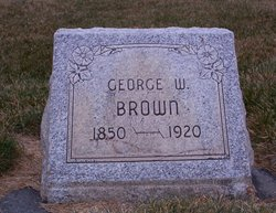 George Washington Hazelton Brown