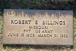 Robert E Billings