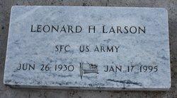 Leonard H Larson