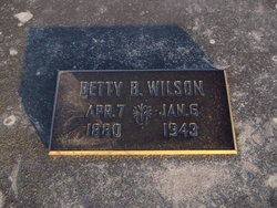 Betty B <i>Crutcher</i> Wilson