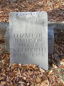 Elizabeth <i>Harrison</i> Broyles