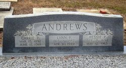 Ressie Ruth <i>Purvis</i> Andrews