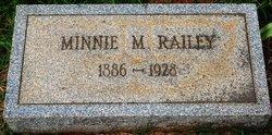 Minnie M. <i>Hudson</i> Railey
