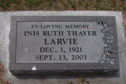 Inis Ruth <i>Thayer</i> Larvie