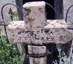 Josefita <i>J. de</i> Maes