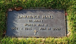 Lawrence Larry Hays