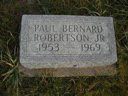 Paul Bernard Robertson, Jr