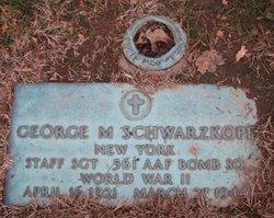 George M Schwarzkopf