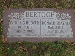 Viola Gertrude <i>Hoover</i> Bertoch