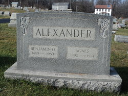 Benjamin O Alexander