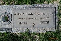 Deborah Ann <i>Hefner</i> Beckenthal
