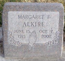Margaret F Alkire