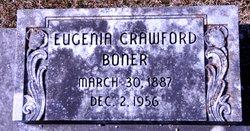 Eugenia M. <i>Crawford</i> Boner