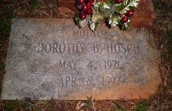 Dorothy B Hosch