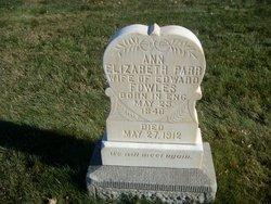 Ann Elizabeth Annie <i>Parr</i> Fowles