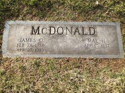 Mae West McDonald