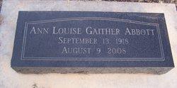 Ann <i>Gaither</i> Abbott