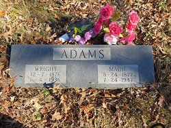 Madie Mary <i>Henry</i> Adams