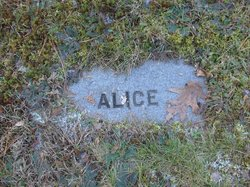 Alice <i>Partkinson</i> Allen