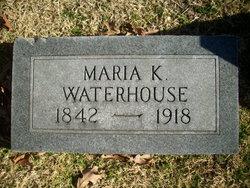 Maria K. <i>Kinison</i> Waterhouse