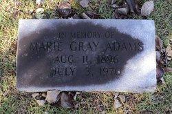 Marie <i>Gray</i> Adams