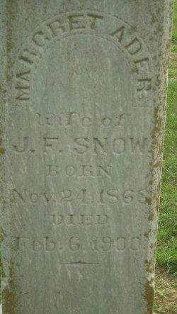 Margaret Ader <i>Womble</i> Snow