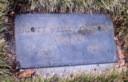 Scott Wesley Calhoun