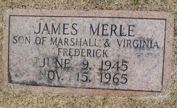 James Merle Frederick