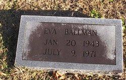 Eva Jean <i>Christian</i> Ballman