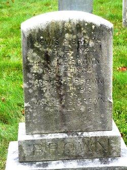 Albert E Brown