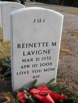 Reinette Marie <i>Lefebvre</i> Lavigne