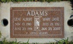 Gene Albert Adams