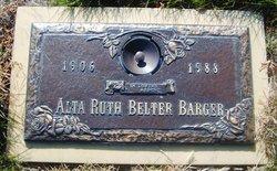 Alta Ruth <i>Belter</i> Barger