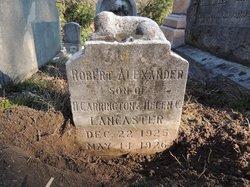 Robert Alexander Lancaster