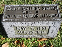 Mary Malinda <i>Smith</i> Leftwich