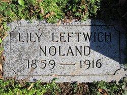 Lily McNally <i>Leftwich</i> Noland