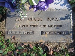 Ada Mildred <i>Clark</i> Royal