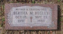Bertha M Begley
