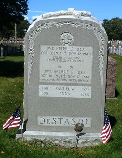 Pvt Peter J DeStasio