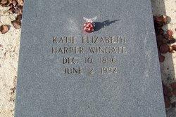 Kate Elizabeth <i>Harper</i> Wingate